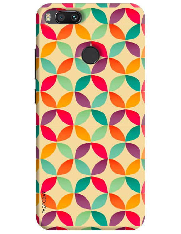 Abstract Back Cover for Xiaomi Mi A1