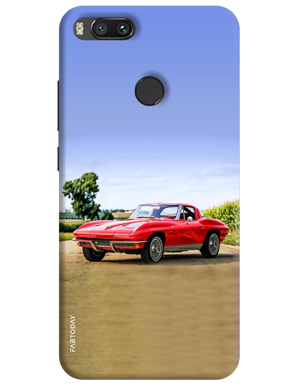 Cars Back Cover for Xiaomi Mi A1