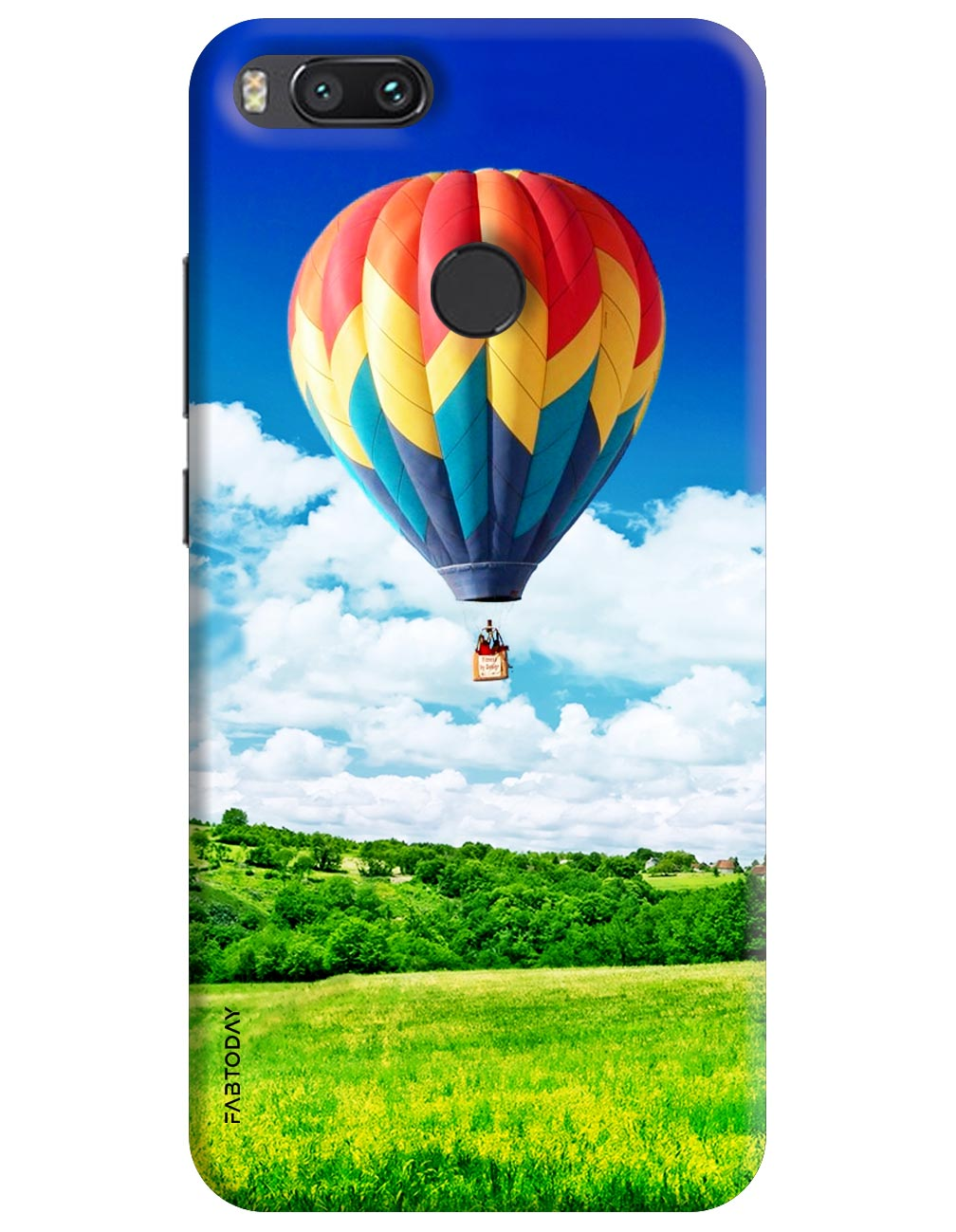 Hot Air Balloons Back Cover for Xiaomi Mi A1