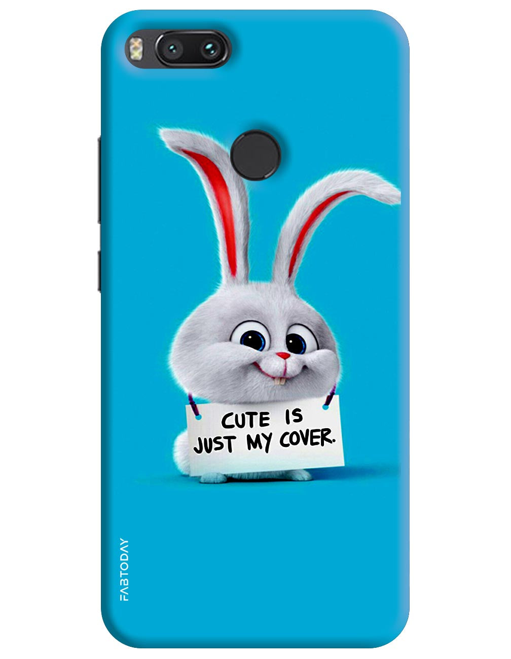 Cute is just my cover Back Cover for Xiaomi Mi A1