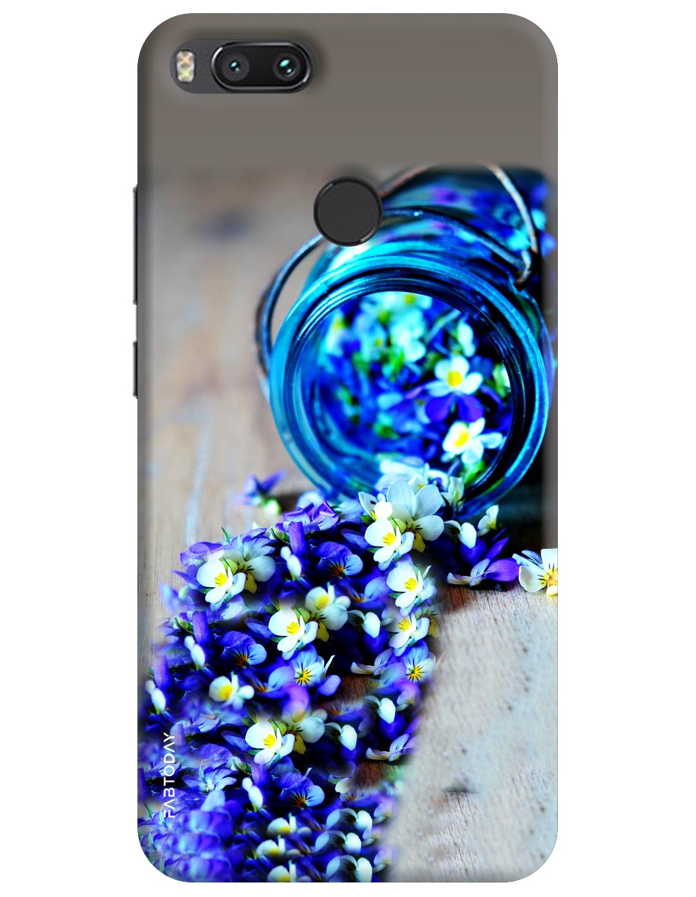 Flowers Back Cover for Xiaomi Mi A1