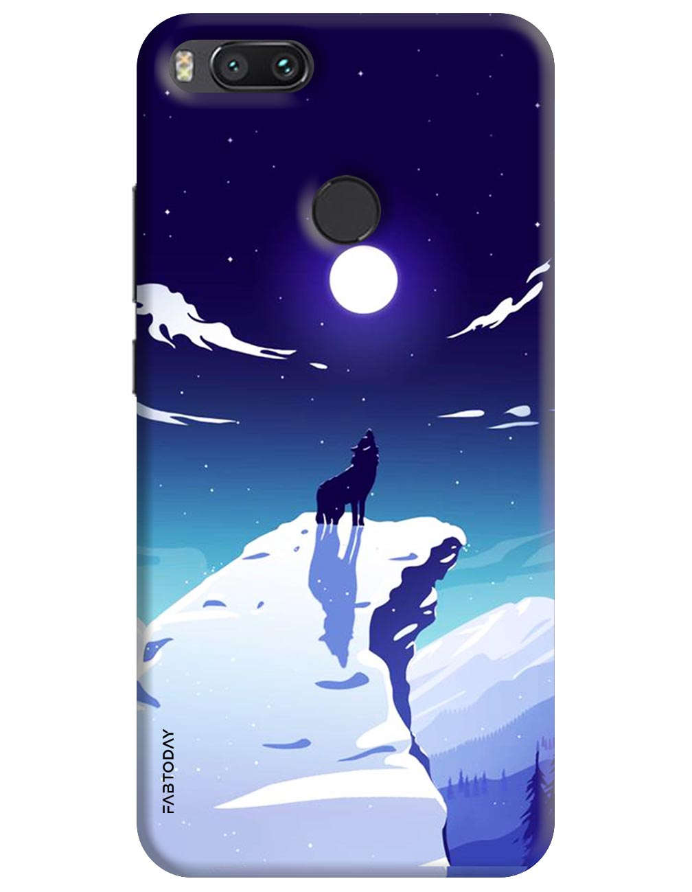 Animals Back Cover for Xiaomi Mi A1