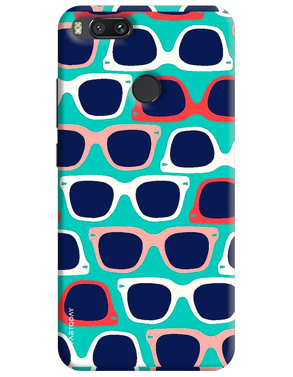 Spectacles Back Cover for Xiaomi Mi A1