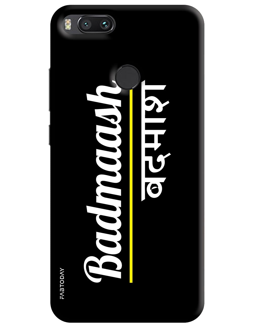 Badmaash Back Cover for Xiaomi Mi A1