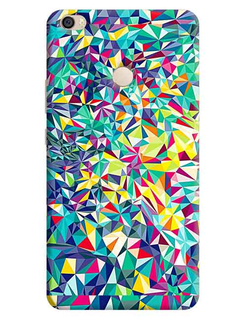 Abstract Xiaomi Mi Max Mobile Cover