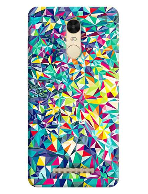Abstract Xiaomi Redmi Note 3 Pro Mobile Cover