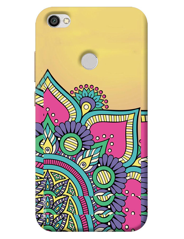 huge selection of 3885d 94c87 Abstract Back Cover for Xiaomi Redmi Y1