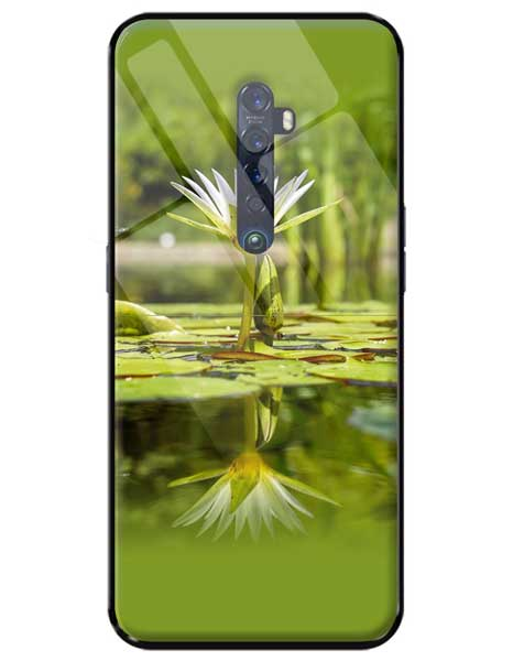 Flower Oppo Reno 2Z Glass Cover