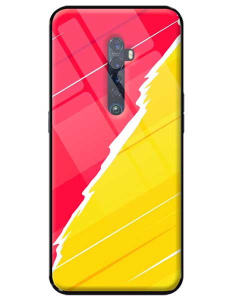 Abstract Oppo Reno 2Z Glass Cover