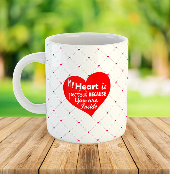 My Heart is Perfect Mug