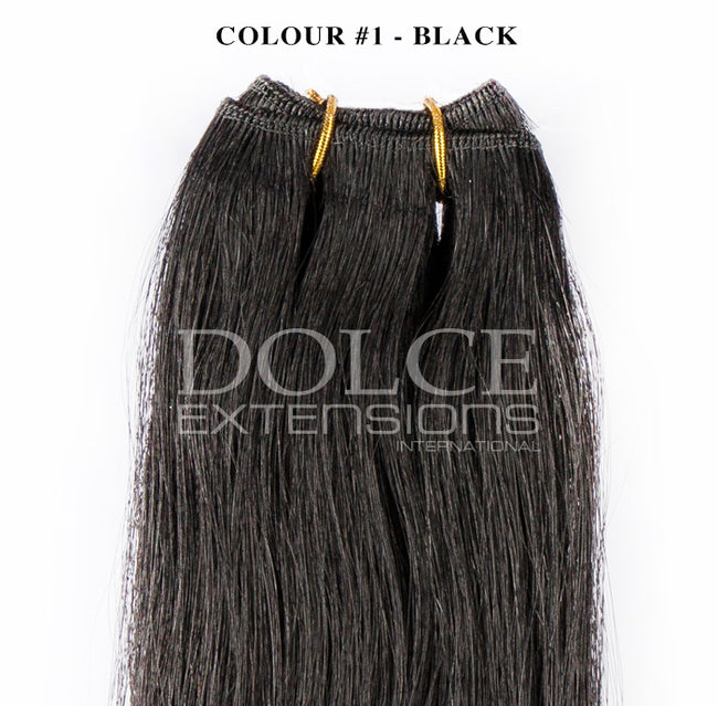 Weaves double wefts 100 grams, 20 inch to 26 inch