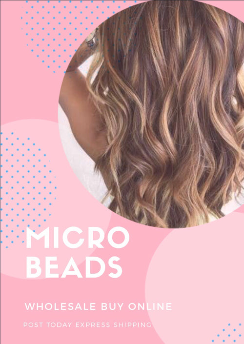 Micro-beads 100 strands 22 inch Human Euro Remy Hair