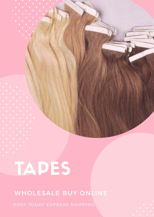 "Skin Tape Extensions in 20""-26 inch"