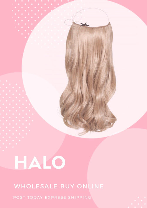 Halo Hair Extensions  150 grams, 22 Inch