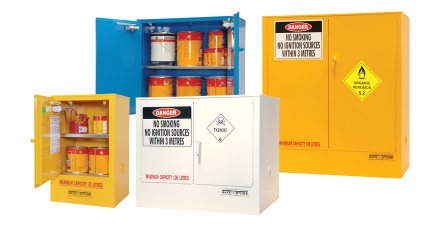 Indoor Chemical Storage Cabinets