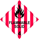 <small>Class 4.1 </small>Flammable Solid Storage