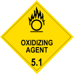 <small>Class 5.1 </small>Oxidising Agent Storage