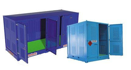 Relocatable Dangerous Goods Containers