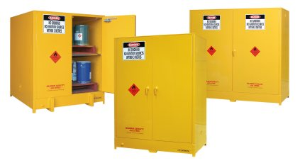 Indoor large capacity dangerous goods safety storage cabinets