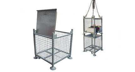 Liftable Parts Cages