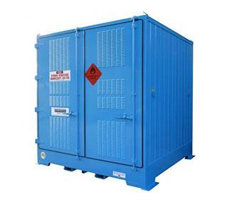 Relocatable Chemical Storage Containers