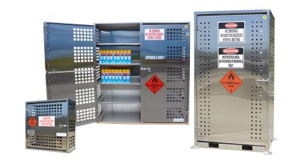 Stainless Steel Gas & Aerosol Stores