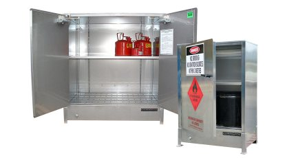 Heavy Duty Stainless Steel Storage Cabinets