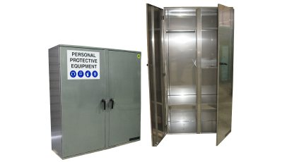 Stainless Steel PPE Cabinets