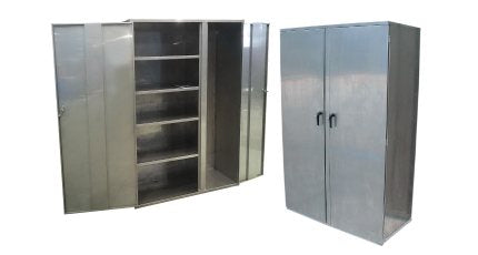 Secure Stainless Steel Storage Cabinets