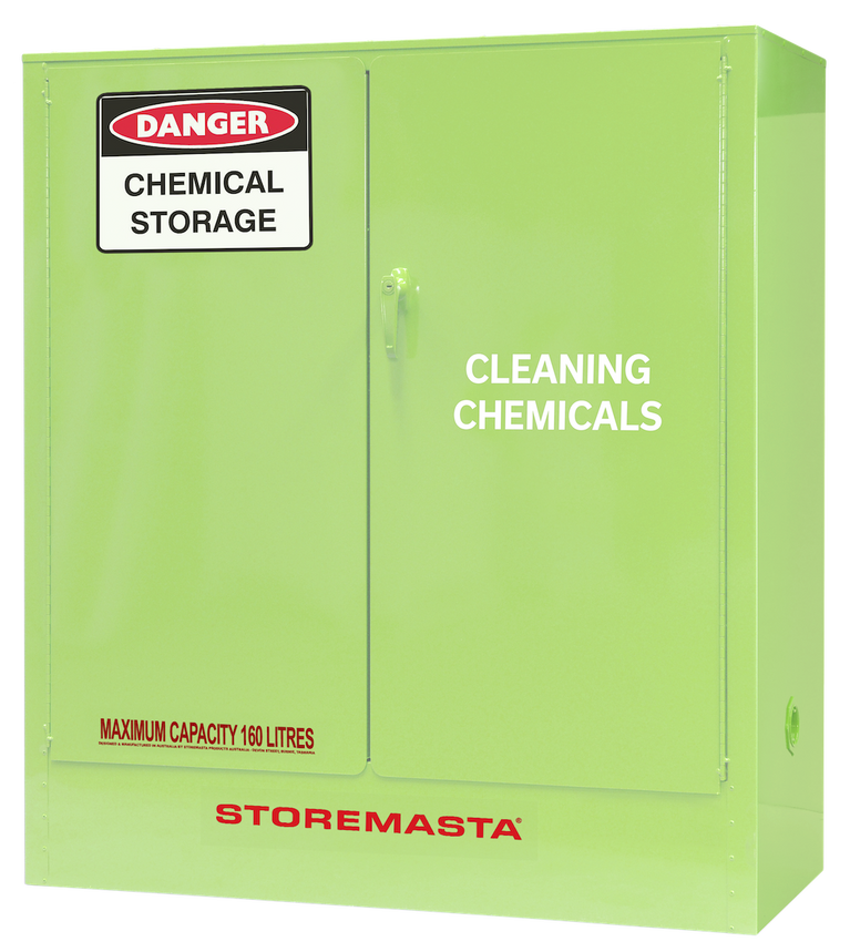 Cleaning Chemical Storage Cabinet -  160L