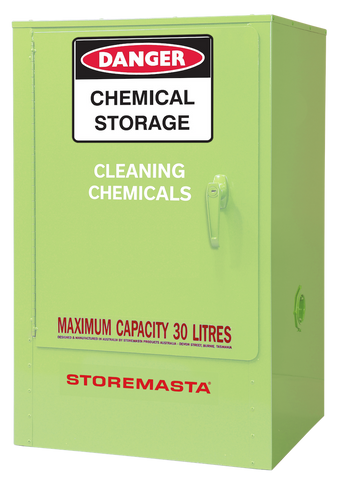 Cleaning Chemical Storage Cabinets