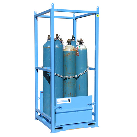 Gas Cylinder Store – Duel Sided Access - Small