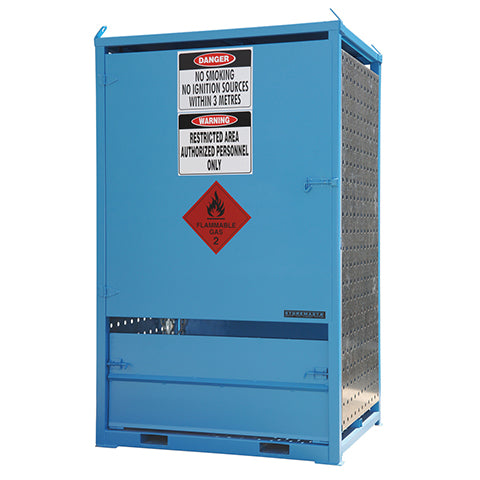 Gas Cylinder Store – Duel Sided Access - Large