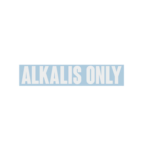 Alkalis Only