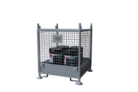 Bunded Crane Liftable Cage – 800mm