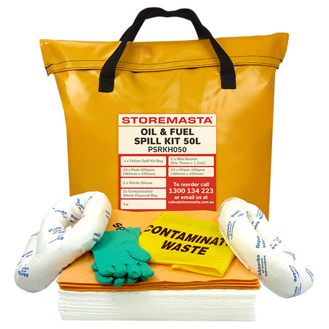 Oil & Fuel Spill Kit 50L
