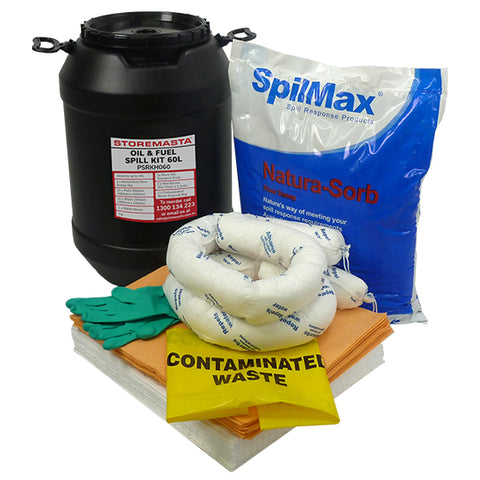 Oil & Fuel Spill Kit 60L
