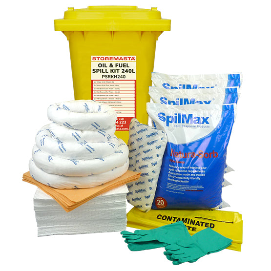 Oil & Fuel Spill Kit 240L