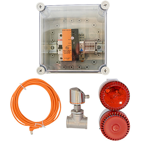 Audio Visual Alarm System with BMS Capability 24V - Suitable for Emeregency Safety Shower