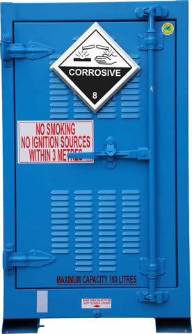 Outdoor Corrosive Substance Store -  160L