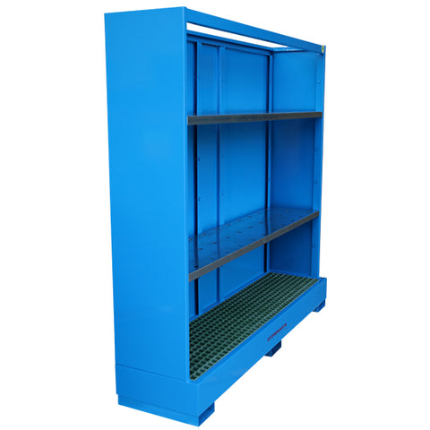 Bunded Steel Shelving - Small