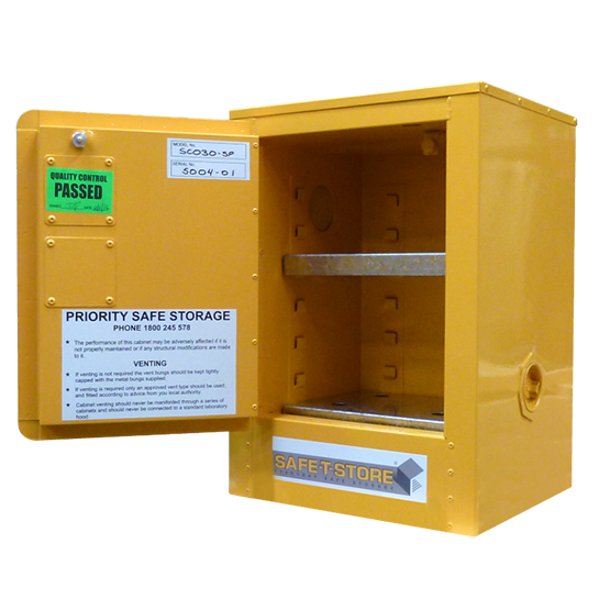 Flammable Solid Storage Cabinet - 15L