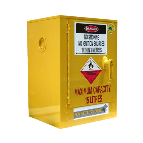 Spontaneously Combustible Storage Cabinet - 15L
