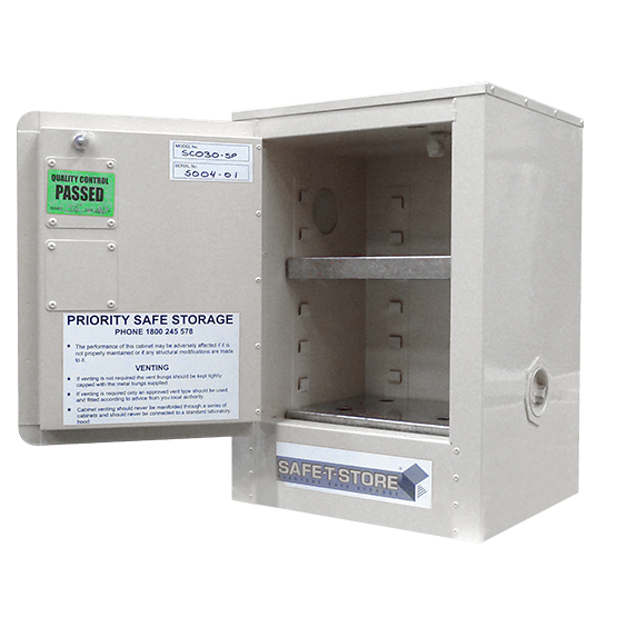 Toxic Substance Storage Cabinet - 15L
