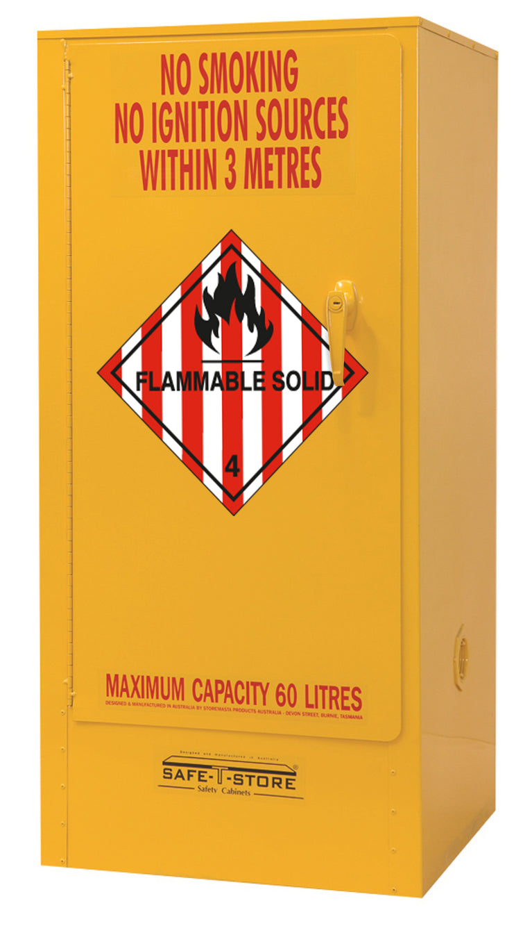 Flammable Solid Storage Cabinet - 60L - STOREMASTA