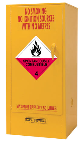 Spontaneously Combustible Storage Cabinet - 60L - STOREMASTA