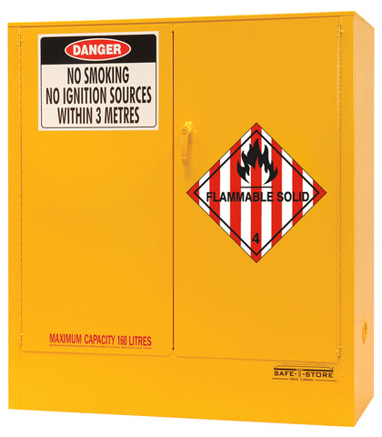 Flammable Solid Storage Cabinet - 160L - STOREMASTA