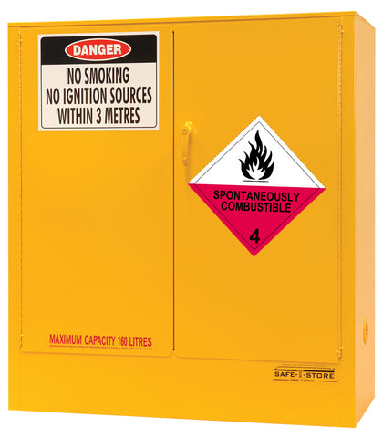 Spontaneously Combustible Storage Cabinet - 160L - STOREMASTA