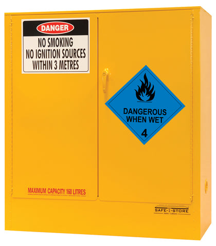 Dangerous When Wet Storage Cabinet - 160L - STOREMASTA