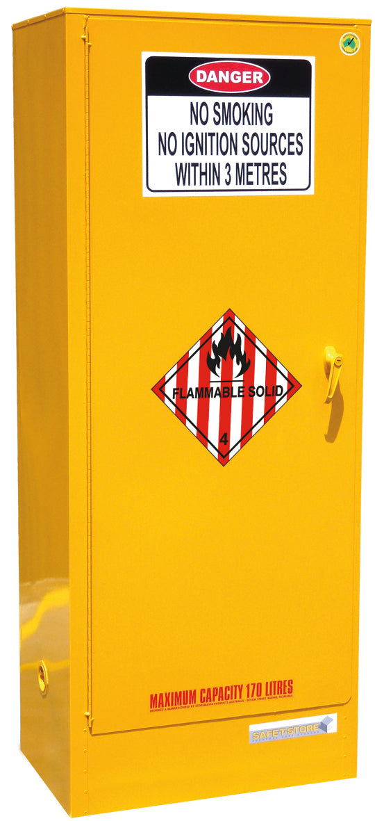 Flammable Solid Storage Cabinet - 170L - STOREMASTA